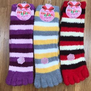 Other - New 3 pairs of toe socks